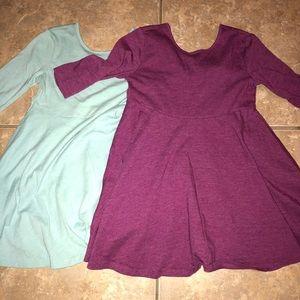 Old Navy | Bundle of 2 skater dresses